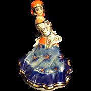 Dorohoi Pottery Romanian Gypsy Figurine