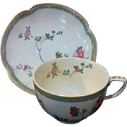 Johnson Bros. Brothers Porcelain China Tea Cup Saucer Teacup Vintage