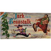 1950'S Baby Boomer Board Game Jack Beanstalk Transogram