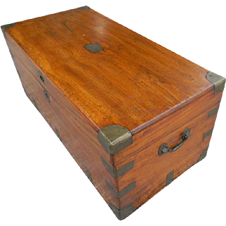 Camphor Wood Campaign Chest