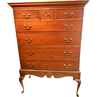 Queen Anne Chest on Frame