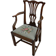 A Childs Chippendale Arm Chair