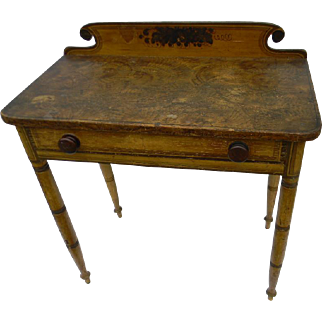 19th Century Paint Decorated Table