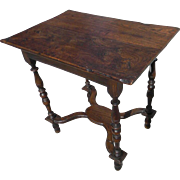 17th Century Elm Wood Tavern Table