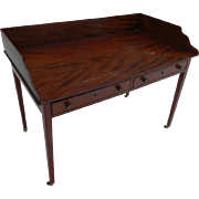A Circa 1800 English Writing or Serving Table