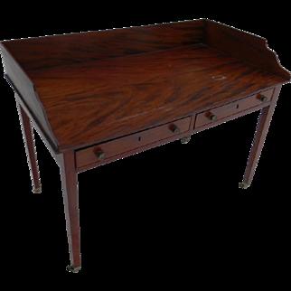 A Circa 1800 English Writing or Serving Table
