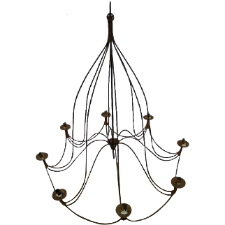 19th Century Large Size French Chandelier