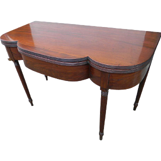 19th Century Oversize Game Table