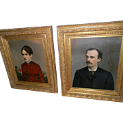 Pair of American Portraits