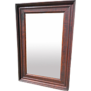 Tiger Maple Mirror 19th century