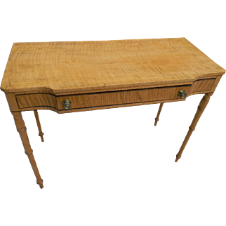 Tiger Maple Serving Table