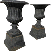 19th Century Garden Urns