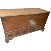 18th Century PA. Walnut Chest