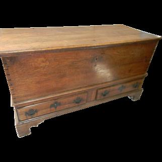 18th Century PA. Walnut Chest