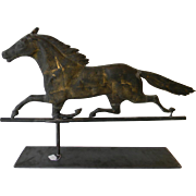 19th Century Weathervane of Horse