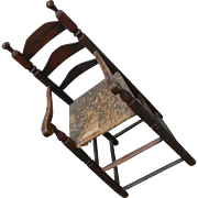 Early 18th Century Youth Chair