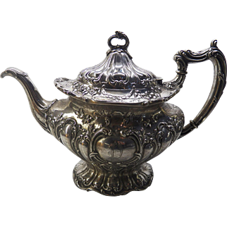 Gorham Chantilly Grand sterling silver teapot
