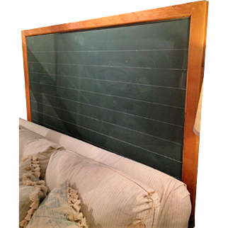 Antique School Chalk Board