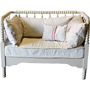 Antique Bedframe Settee