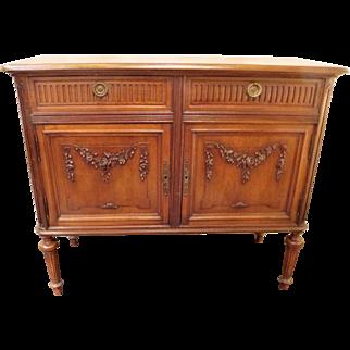 French Vintage Storage Cabinet