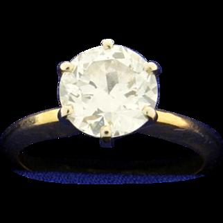 2 ct Solitaire Diamond Ring