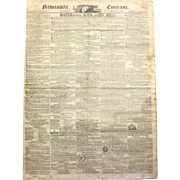 Newcastle Courant Newspaper from September 24, 1825
