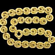 "18k Italian 18"" Neck chain"