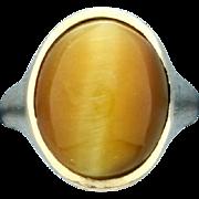 Honey Cats Eye Ring