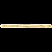 18k Yellow Gold Herringbone Bracelet