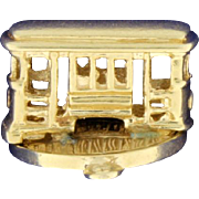 San Francisco Trolley Car Charm