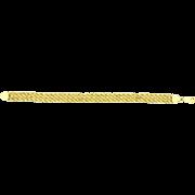 14K Yellow Gold Triple Rope Bracelet