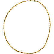 16 Inch Rope Neck Chain