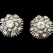 2ct Total Weight Diamond Earrings