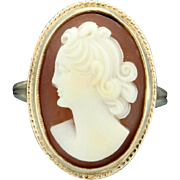 Cameo Ring 14k Yellow Gold