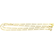 Italian 20 1/2 Inch Figaro Chain Made