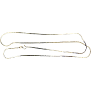 24 Inch Italian Made Serpentine Chain