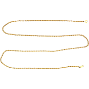 22 Inch Rope Style Chain