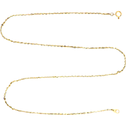 19 1/4 Inch Cable Link Neck Chain