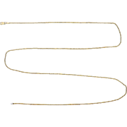 Italian Made 30 Inch Rope Style Neck Chain