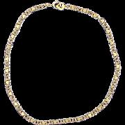 10 1/4 Inch Heart Anklet in 14k Gold