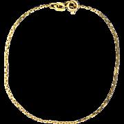 7 1/4 Inch Chain Link Bracelet