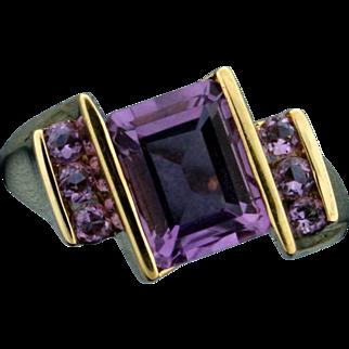 3.3ct TW Amethyst Ring