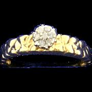 Diamond Nugget Style Ring