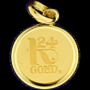 Credit Suisse 3g Fine Gold Pendant