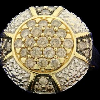 1.5ct Champagne Diamond Ring