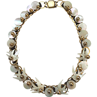 1920s Mother-of-Pearl Necklace