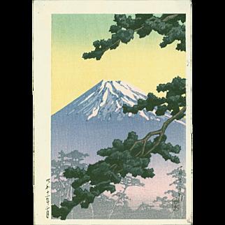 Hasui Kawase - Sacred Mount Fuji - Japanese Woodblock Print