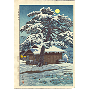 Shiro Kasamatsu - Shitomae - Japanese Woodblock Print