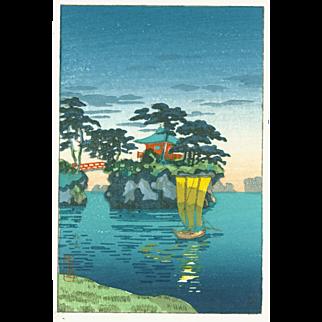 Tsuchiya Koitsu - Matsushima- Japanese Woodblock Print