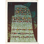 Toshi Yoshida - Transcendence- Limited Edition Japanese Woodblock Print